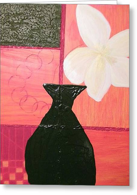 'feeling Square' Greeting Card by Chris Heitzman