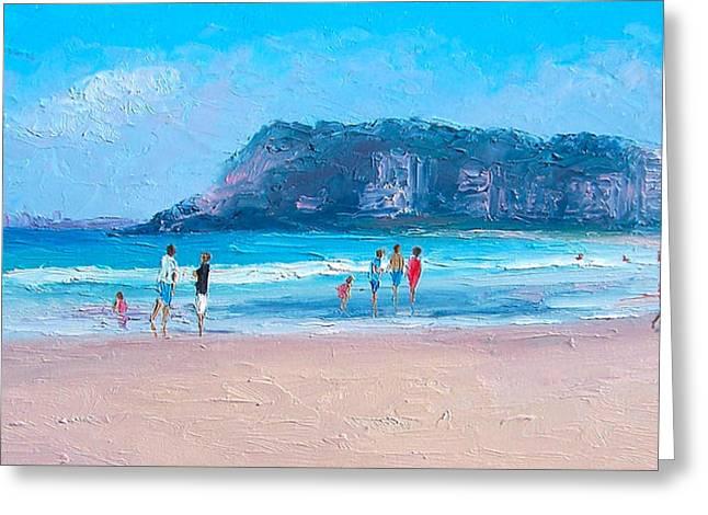 Feels Like Summer At Burleigh Heads Gold Coast Greeting Card