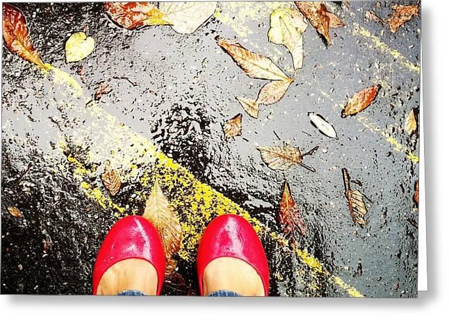 Feet Around The World #29 Greeting Card