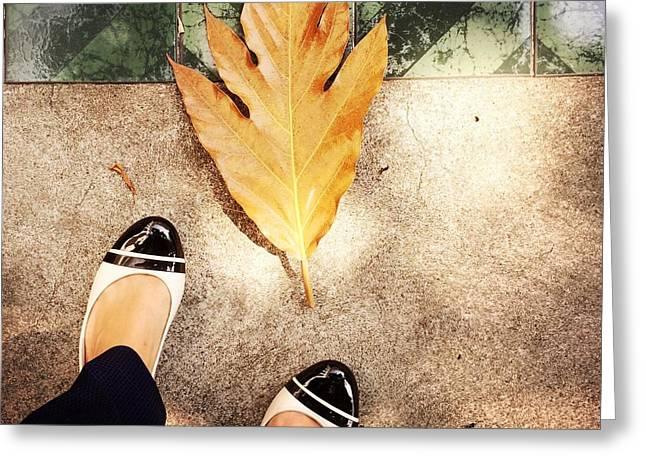Feet Around The World #30 Greeting Card