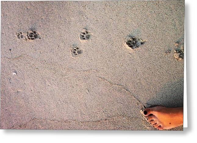 Feet Around The World #31 Greeting Card