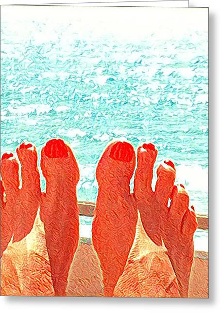 Feets Don't Fail Me Now Greeting Card