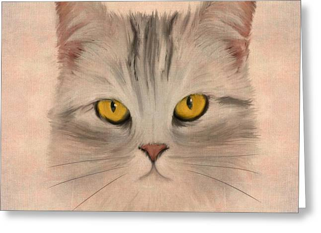 Felis Catus Greeting Card