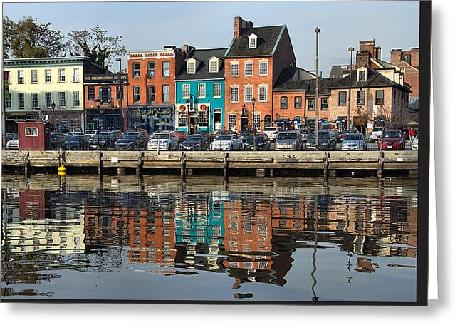 Fells Point 1 Greeting Card by Steven Richman