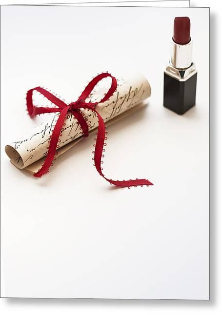 Feminine Greeting Card by Art of Invi