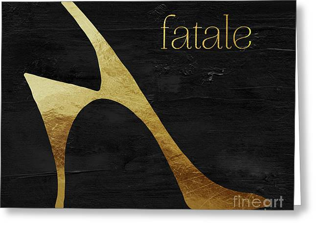 Femme Fatale I Greeting Card by Mindy Sommers