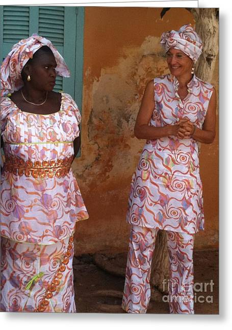 Femmes De Goree Greeting Card by Fania Simon