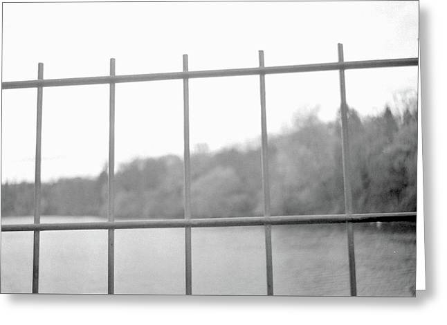 Fence Against Nature Greeting Card