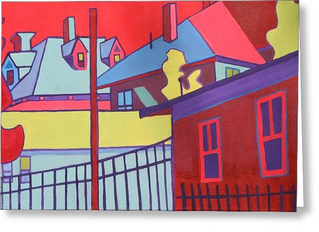 Fenced In  Greeting Card by Debra Bretton Robinson
