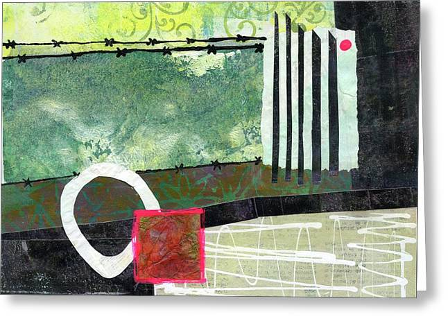 Fences Greeting Card by Sue Furrow