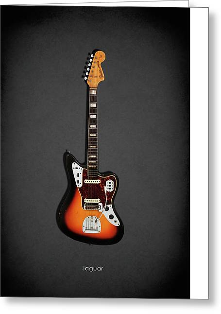 Fender Jaguar 67 Greeting Card