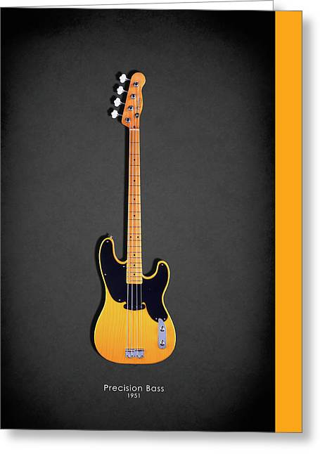 Fender Precision Bass 1951 Greeting Card