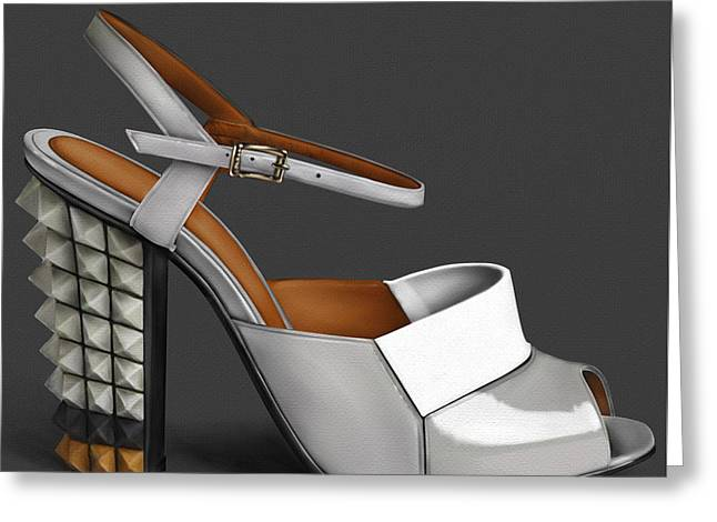 Fendi Shoe  Greeting Card by Donald Lawrence