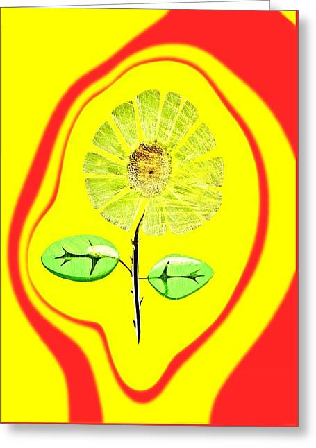 Feng Shui Energy Greeting Card by Feng Shui