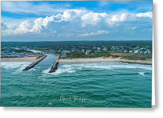 Fenway Beach, Weekapaug,ri Greeting Card
