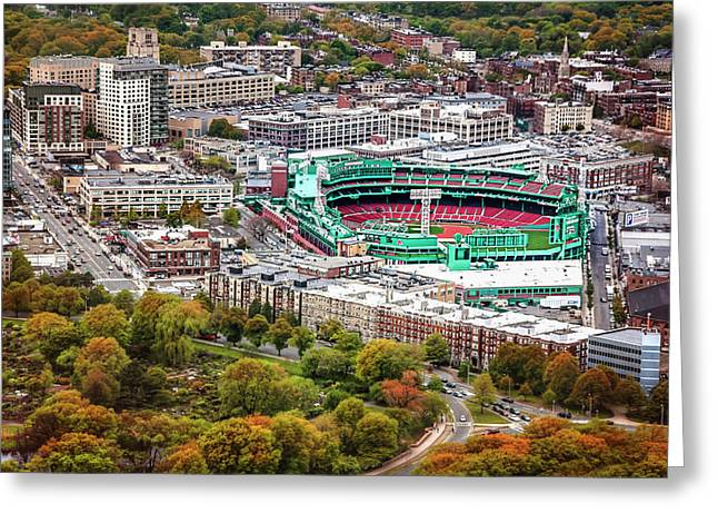 Fenway Park  Boston Red Sox Greeting Card