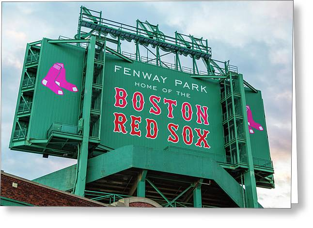 Fenway Park - Home Of The Red Sox Greeting Card