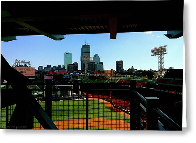 Fenway Park, Xi  Greeting Card