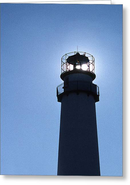 Barrier Island Greeting Cards - Fenwick Island Lighthouse Greeting Card by Skip Willits
