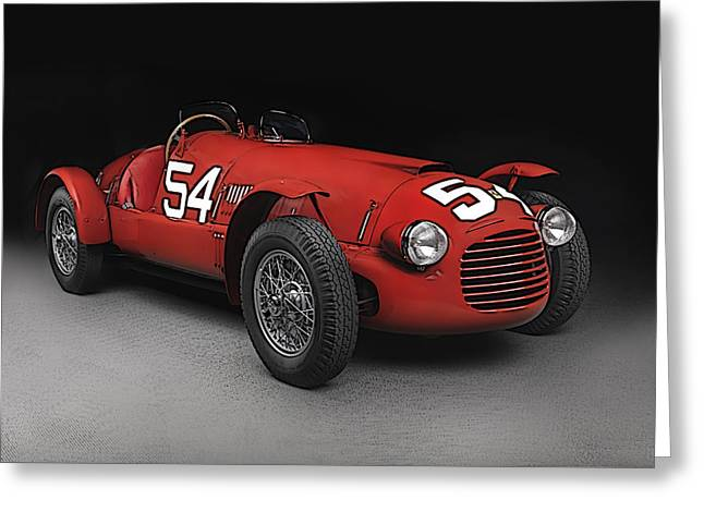Ferrari 166 036  Greeting Card