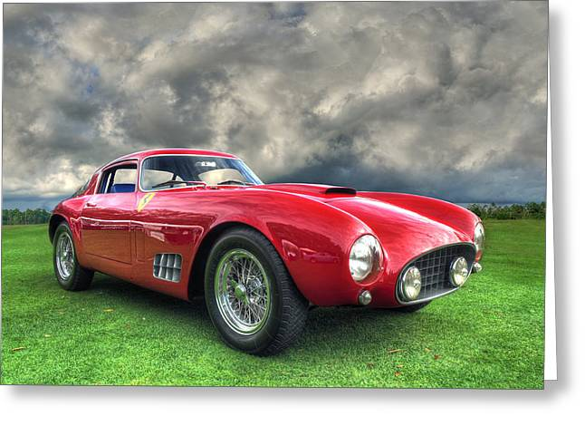 Ferrari 1956 250 Gt Competizione Berlinetta Greeting Card by John Adams