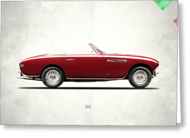 Ferrari 212 1951 Greeting Card