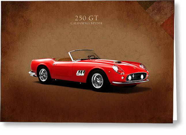 Ferrari 250 Gt Greeting Card by Mark Rogan