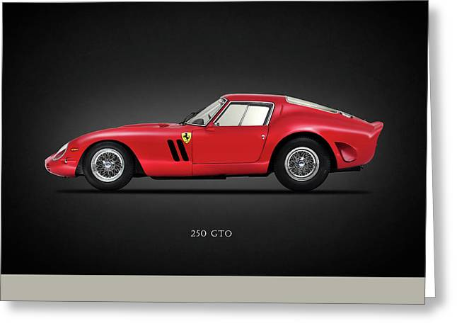 Ferrari 250 Gto Greeting Card by Mark Rogan