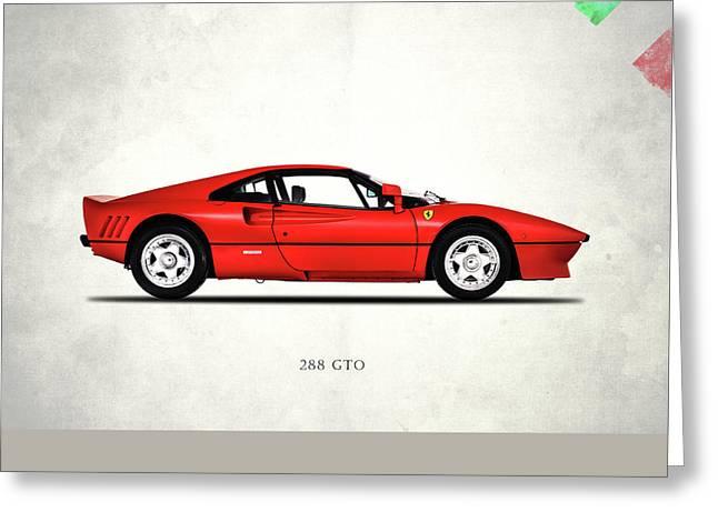 Ferrari 288 Gto 1985 Greeting Card by Mark Rogan