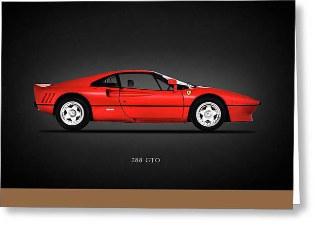 Ferrari 288 Gto Greeting Card by Mark Rogan