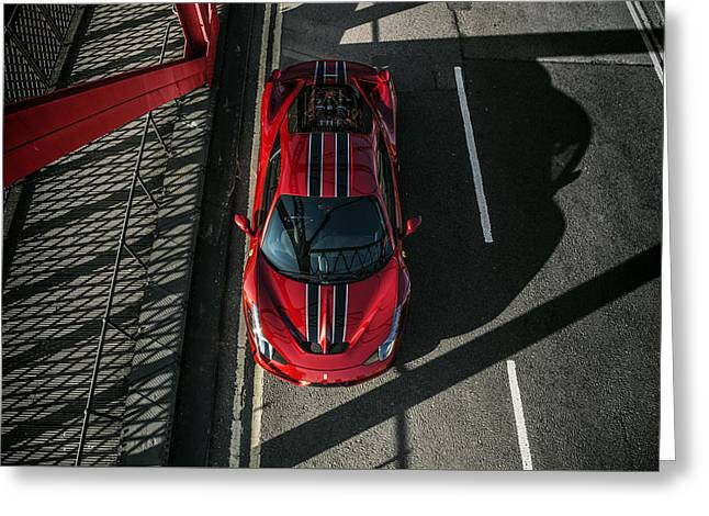 Ferrari 458 Speciale Greeting Card