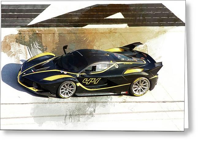 Ferrari Blacks Greeting Card