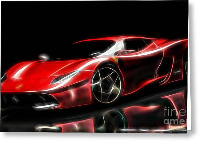 Ferrari Collection Greeting Card by Marvin Blaine