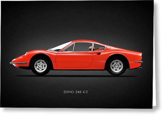 Ferrari Dino 246 Gt 1970 Greeting Card