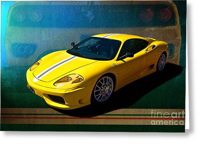 Ferrari F430 Greeting Card