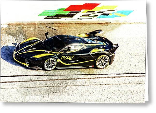 Ferrari Racing Blacks Greeting Card