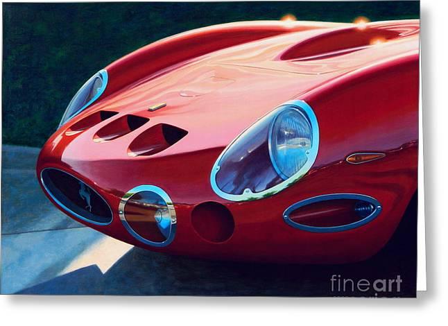 Ferrari Two Fifty Gto Greeting Card