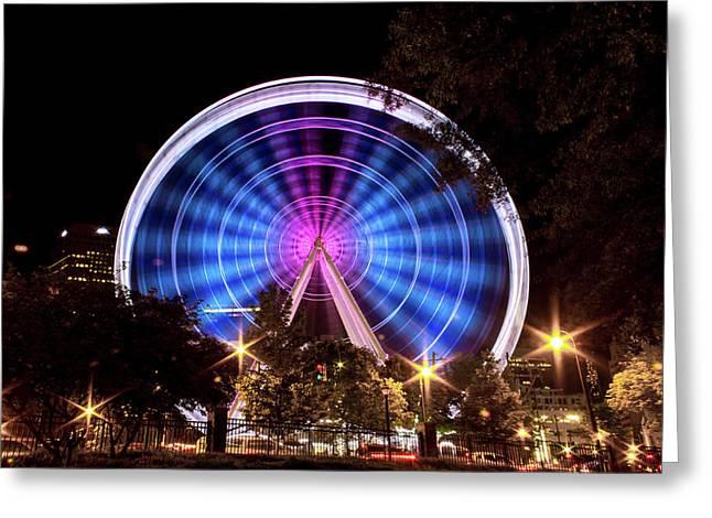 Ferris Wheel At Centennial Park 2 Greeting Card
