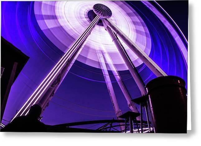 Ferris Wheel At Centennial Park 3 Greeting Card