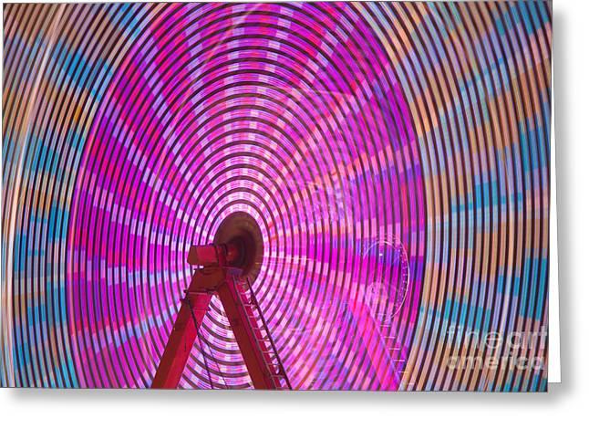 Ferris Wheel I Greeting Card