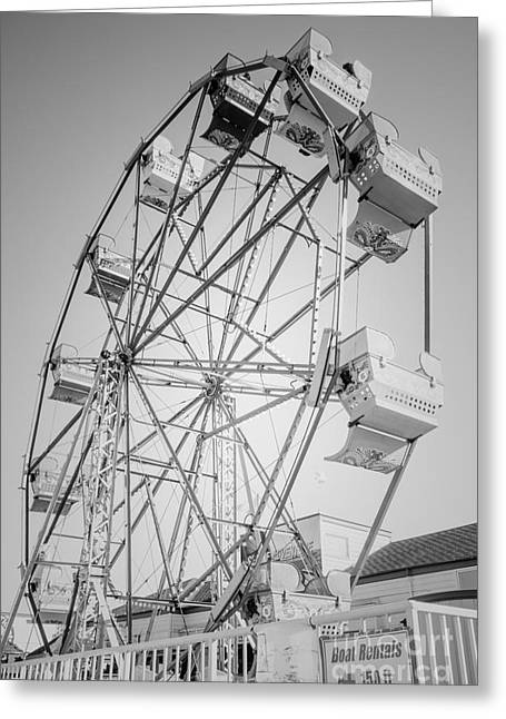 Ferris Wheel In Newport Beach California Greeting Card