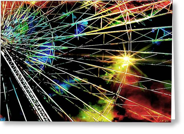 Ferris Wheel, Grand Roue Greeting Card