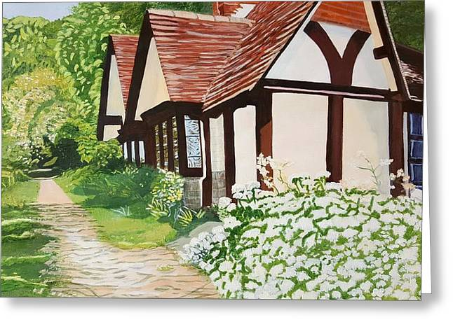 Ferry Cottage Greeting Card