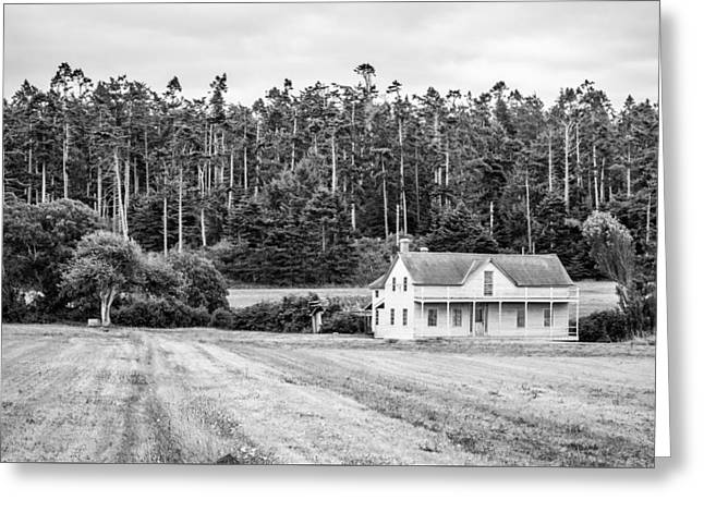 Ferry House, Whidbey Island, Washington, 2015 Greeting Card by Steve G Bisig