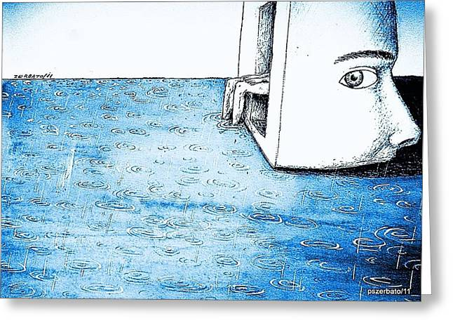 Fertile Imagination Greeting Card by Paulo Zerbato