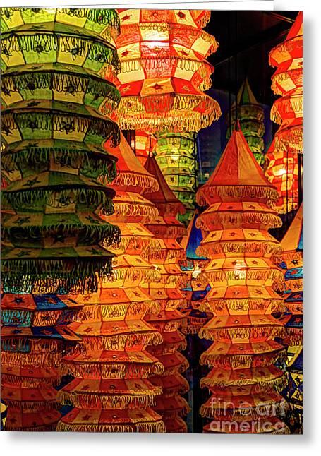 Festival Lanterns Greeting Card