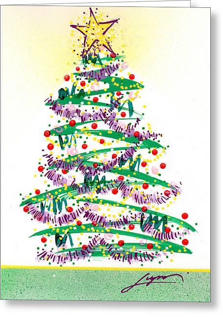 Festive Holiday Greeting Card
