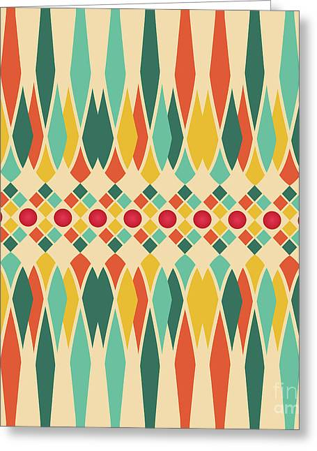 Festive Pattern Greeting Card