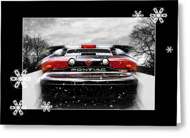Trans am greeting cards fine art america festive pontiac trans am greeting card m4hsunfo