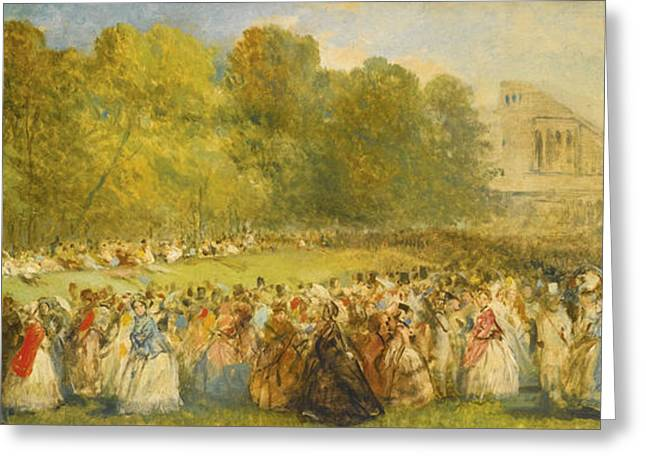 Fete Champtre The Ladies Greeting Card